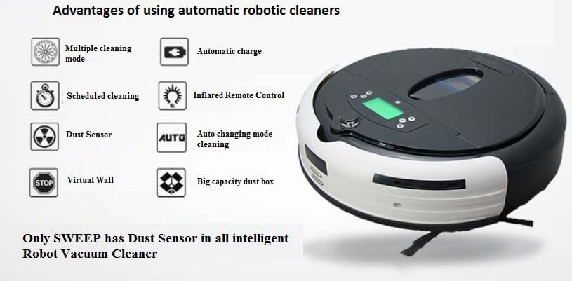 Advantages of using automatic vacuum cleaners